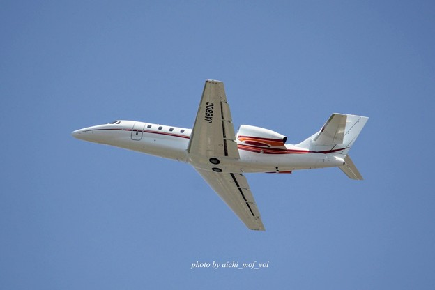 朝日航洋  Cessna 680 Citation Sovereign/Sovereign+ JA680C IMG_1795_3