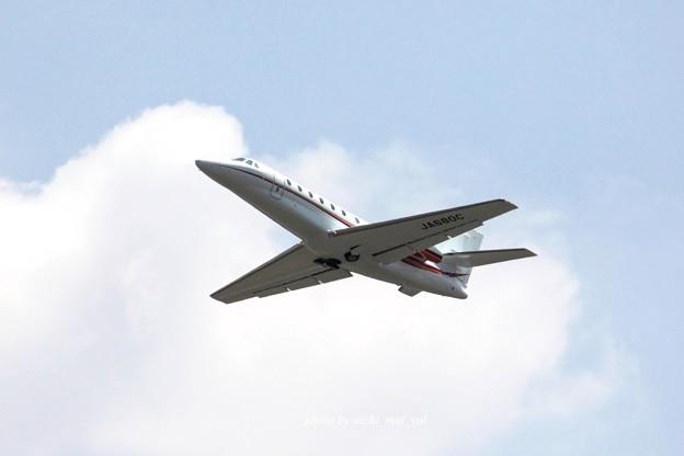朝日航洋  Cessna 680 Citation Sovereign/Sovereign+ JA680C IMG_1791_3