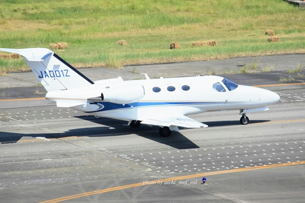 法人所有 JA001Z Cessna 510 Citation Mustang  IMG_2064_3