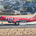Photos: FDA フジドリームエアラインズ JA01FJ ドリームレッド ERJ-170 IMG_3482-2