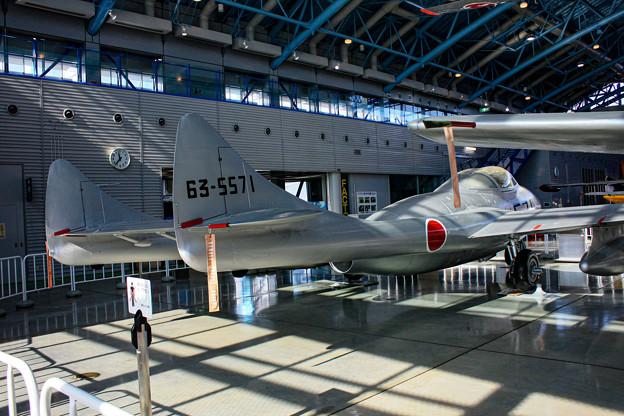 デハビラント DH115 バンパイア Mk.55練習機 @エアーパーク IMG_3419-2