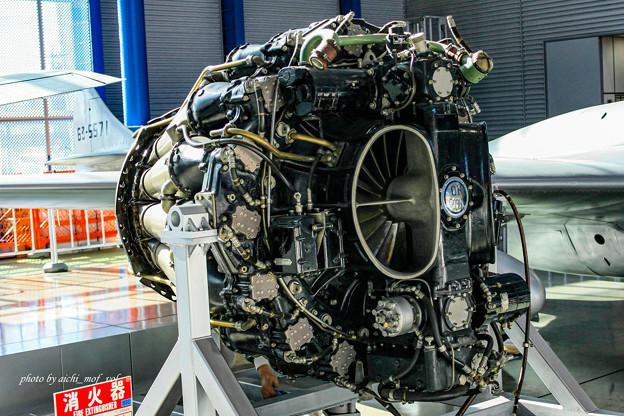 デハビラント DH115 バンパイア Mk.55練習機 ゴブリン35エンジン@エアーパーク IMG_3409-3