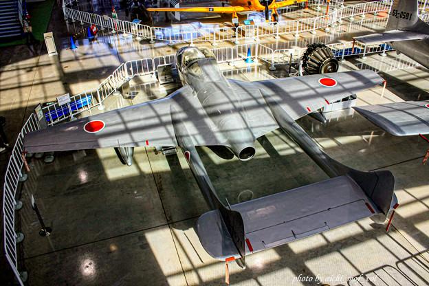デハビラント DH115 バンパイア Mk.55練習機 @エアーパーク IMG_3391-3