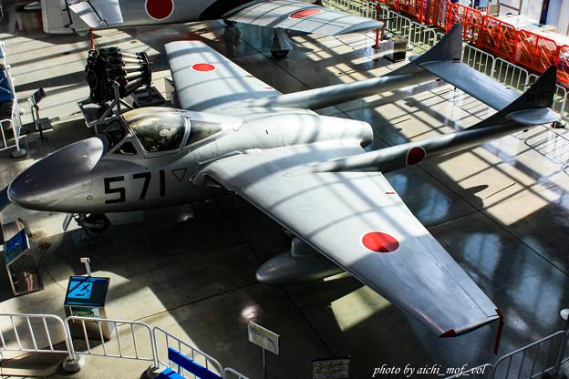 デハビラント DH115 バンパイア Mk.55練習機 @エアーパーク IMG_3389-3