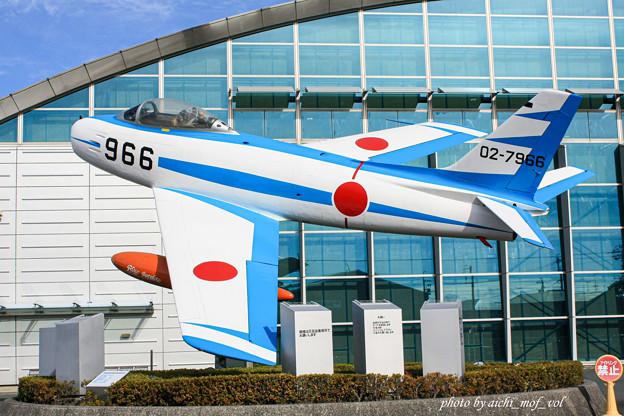 初代ブルーインパルス F-86F 02-7966@エアーパーク IMG_3313-3