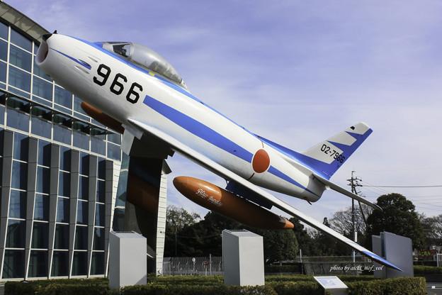 初代ブルーインパルス F-86F 02-7966@エアーパーク IMG_3312-3