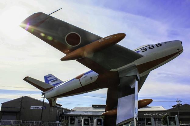 初代ブルーインパルス F-86F 02-7966@エアーパーク IMG_3316-3