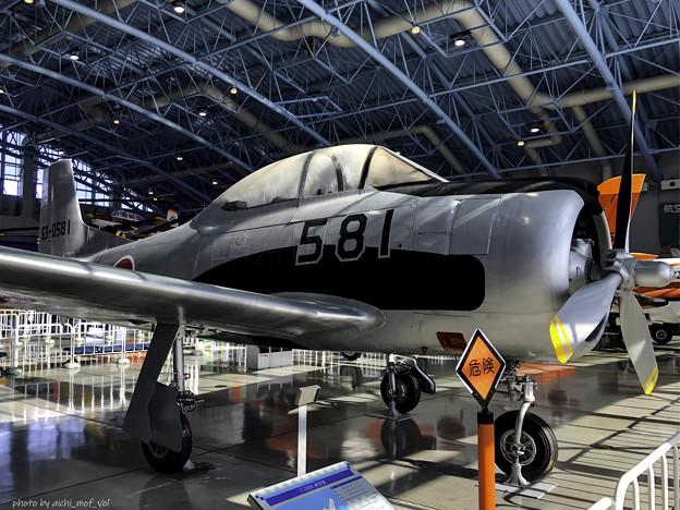 T-28B 練習機 63-0581@エアーパーク IMG_8605-3