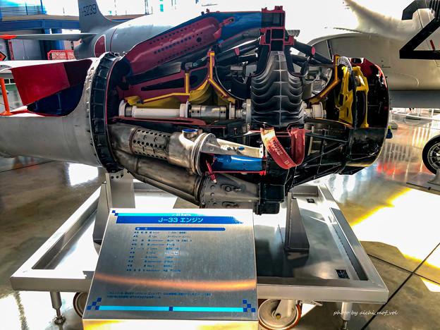 T-33練習機 71-5239 J-33エンジン IMG_8579-3