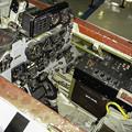 T-33練習機 飛行開発実験団 61-5221 後席 コックピット DSC00131-3