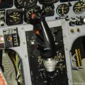 Photos: T-33練習機 飛行開発実験団 61-5221 前席 コックピット 操縦桿 DSC00129-3