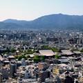 双ヶ岡から嵐山遠望