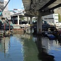 Photos: 旧常盤橋・復旧作業