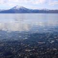 写真: 透明な湖
