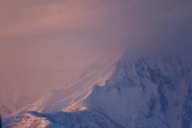 写真: 斜里岳