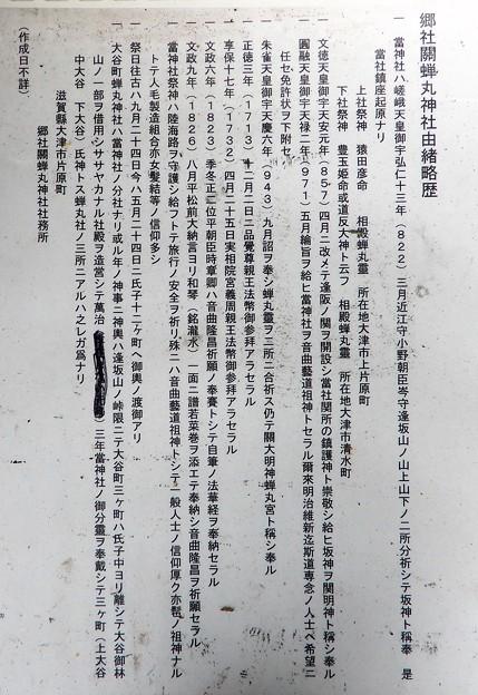関蝉丸神社上社 (5)