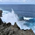 沖縄本島最北端、辺戸岬