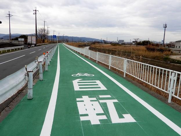 飛鳥川自転車道(川西町)