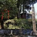 663村草神社古跡碑