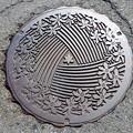 5290435長浜市(旧木ノ本町)のマンホール (2)