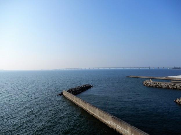 24田尻スカイブリッジから関空大橋を望む (1)