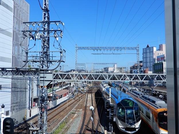 大和西大寺駅展望デッキから(1)