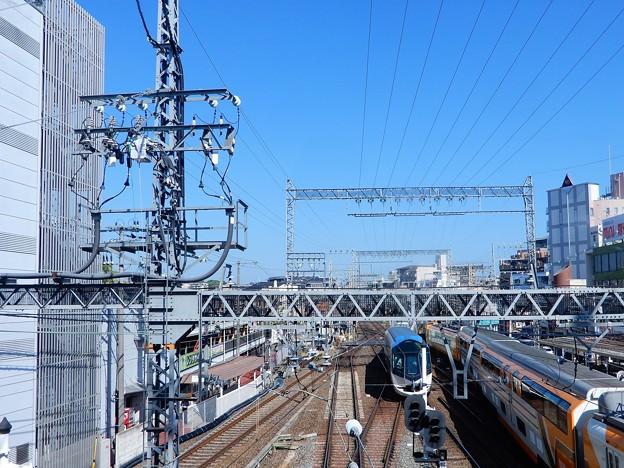 大和西大寺駅展望デッキから(2)