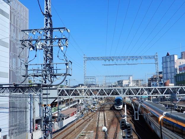 大和西大寺駅展望デッキから(3)