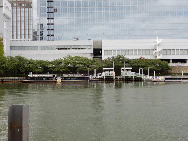 水上バス・天満橋付近 (1)