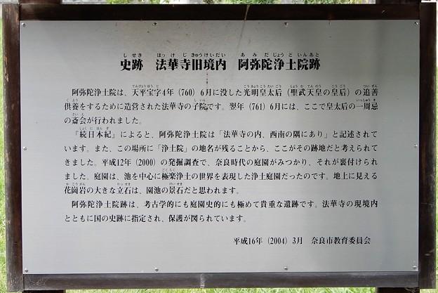 09法華寺旧境内・阿弥陀浄土院跡 (2)