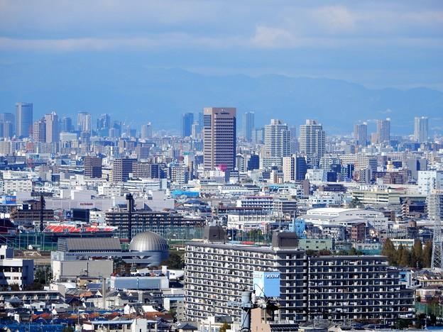 東大阪市庁舎遠望