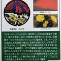 Photos: 01陸別町マンホールカード (裏面)
