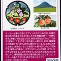 Photos: 36丸亀市のマンホールカード・飯野山と桃 (2)