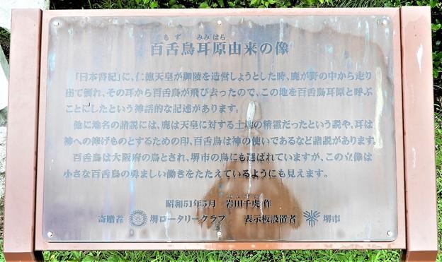 百舌鳥耳原由来の像 (2)