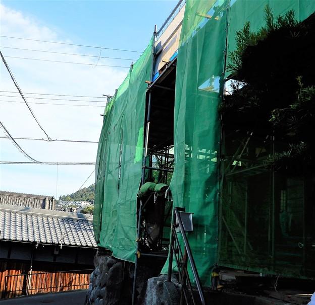「門前の言葉」のお寺只今工事中