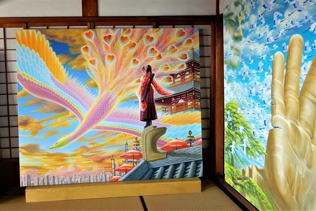 観音寺会場の作品D (2)