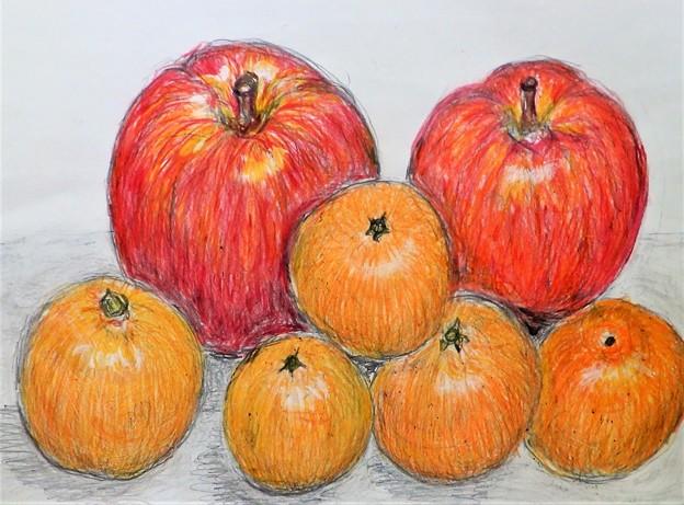 林檎と蜜柑