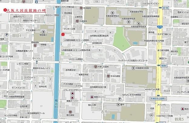 大阪大国技館跡の碑 (2)