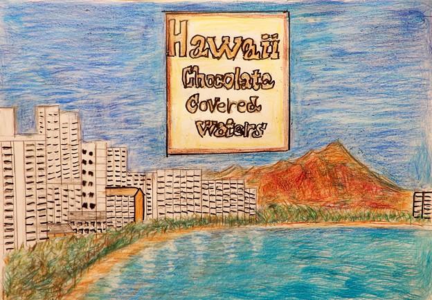 ハワイ土産・チョコfrom K君