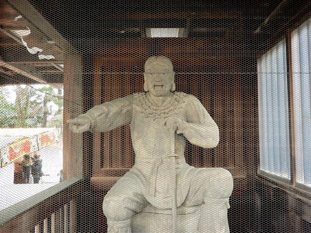 石切神社絵馬殿の神像(多分、ウマシマデ)