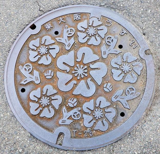 579-0003東大阪市のマンホール (雨水用)