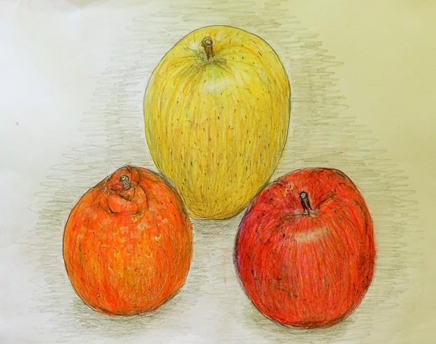 リンゴ&デコポン