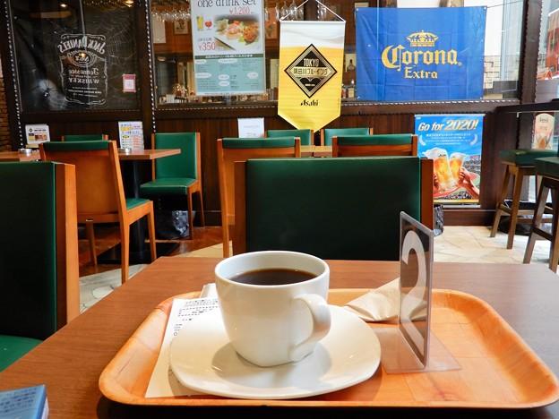 ガーデン5棟の喫茶店(Bar & Cafe ラーゴ・ディ・チェーロ・パルコ)