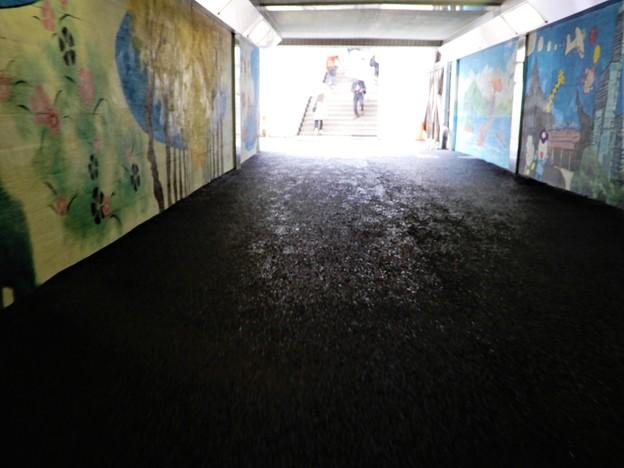 新梅田シティへの地下通路
