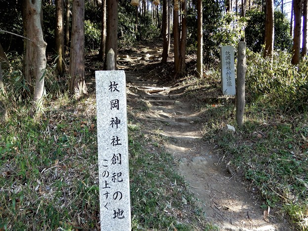 枚岡神社創祀の地 (1)