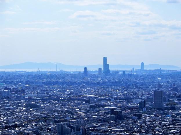 枚岡展望台から淡路島を望む (2)