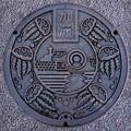 Photos: 997-1204鶴岡市(加茂地区)のマンホール(クラゲ版)