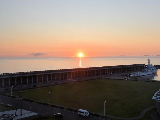 宗谷岬の日の出
