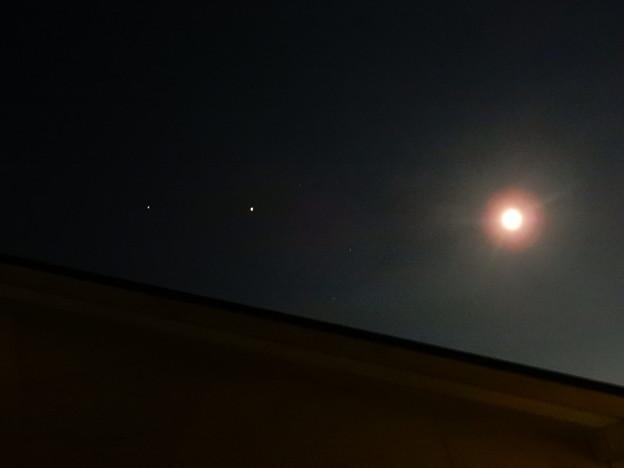 2020年7月31日月、金星、木星 (1)