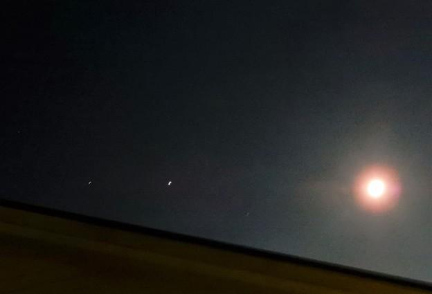 2020年7月31日月、金星、木星 (3)
